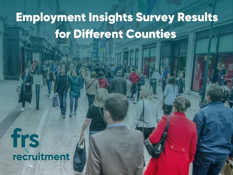 Employment Insights Survey Results for Different Counties