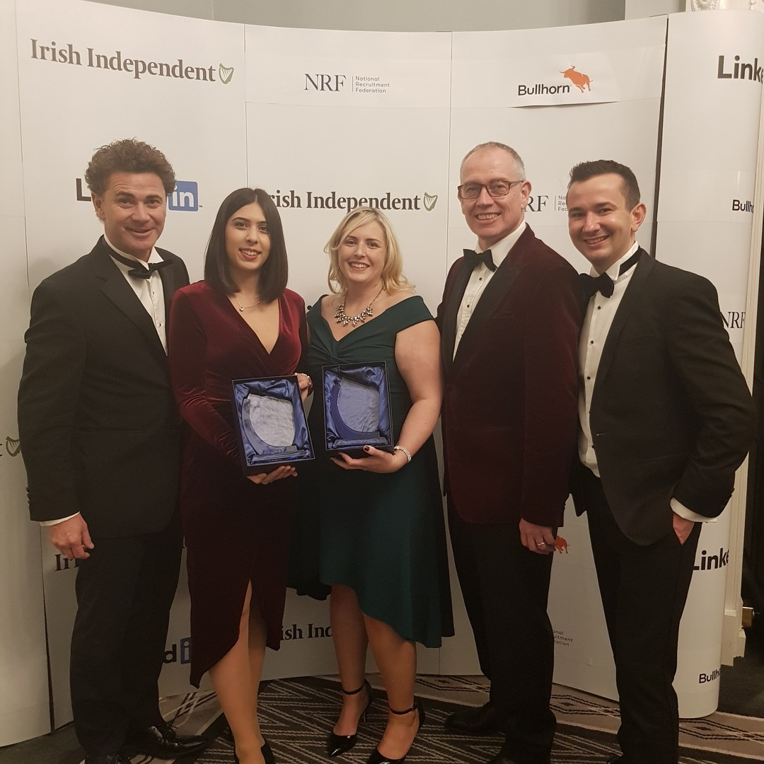 FRS Recuitment Best Recruitment Agency Online Winners at the National Recruitment Federation Awards