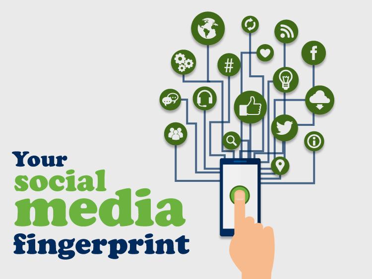 Your social media fingerprint: don't get caught out online